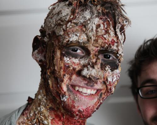 Zombie Steve (pre-shooting)